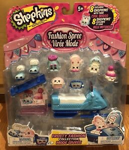 Shopkins Fashion Spree set - new unopened