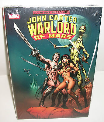 John Carter Warlord of Mars Marvel Comics Omnibus Brand New Factory Sealed
