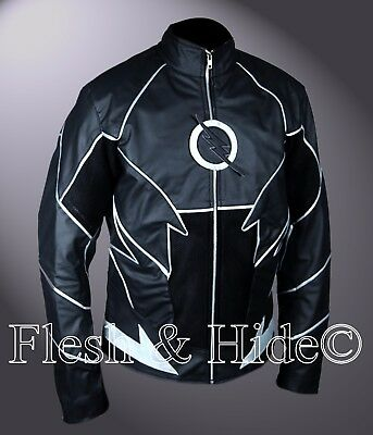 Flash Teddy Sears Hunter Zolomon The Flash Zoom Black Jacket