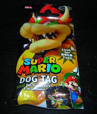 1 UP BOX SUPER MARIO DOG TAG