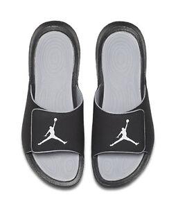 pretty nice 3c0be bf461 Nike Jordan Hydro 6 Retro Slide Sandals, Size 9 - Black/Gray for ...