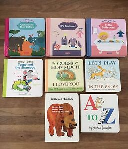 Lot of english board books, great condition