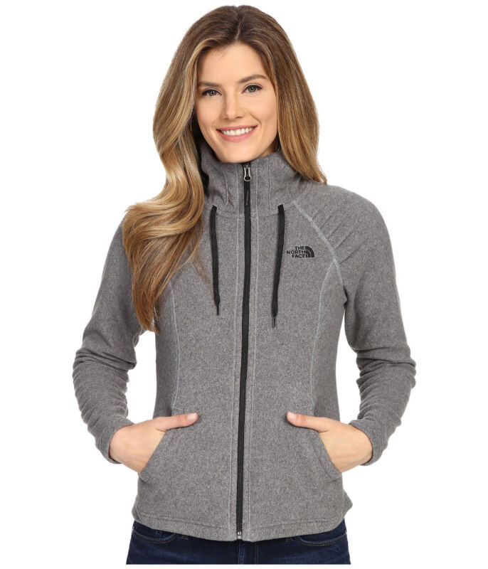 New Womens The North Face Mezzaluna Hoodie Jacket Black Red Grey Blue Green