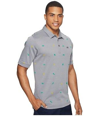 New Travis Mathew XL Polo Shirt Giddy Up model golf extra large golf hot dog (Male Polo Model)