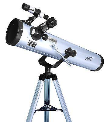 Seben 700-76 Reflektor Teleskop + DKA2 Digitalkamera Adapter PC USB Fernrohr