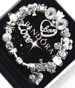 Authentic Pandora Bracelet Silver Wife