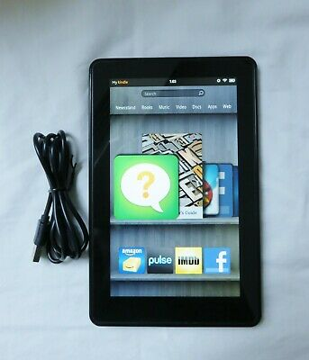 "Amazon Kindle Fire 1st Generation 7"" 8GB Tablet Model DO1400"