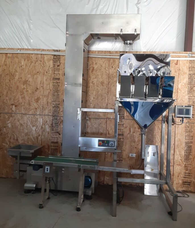 weight , scale and seal machine