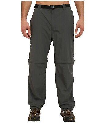 - Columbia Convertible Pants Sportswear Silver Ridge Grill Big & Tall Mens 54 x 34
