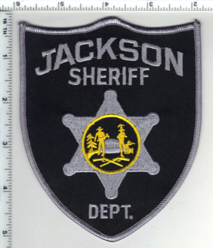Jackson Sheriff Dept. (West Virginia) 2nd Issue Shoulder Patch