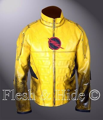 Reverse Flash Eobard Thawne Zoom Yellow Lightning Jacket