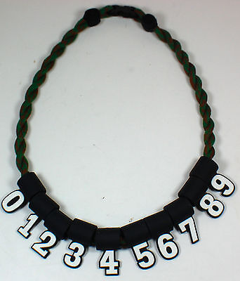 NEW! Custom Numbers ONLY for Titanium Sports Tornado Necklaces Baseball Softball - Baseball Necklaces