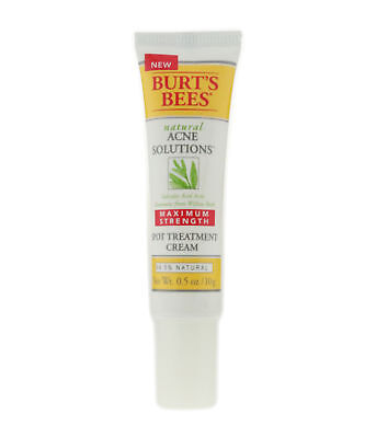 Burt's Bees 'Acne Solution' Spot Treatment Cream 0.5oz/10g Unboxed