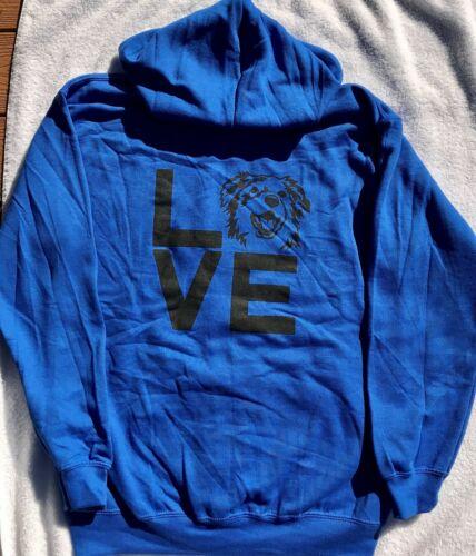 Aussie Rescue - large LOVE zip hoodie