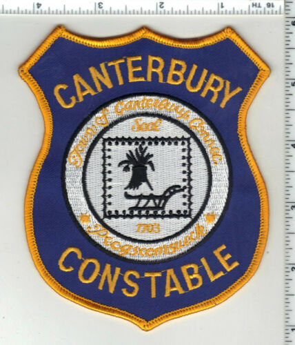 Canterbury Constable (Connecticut) 1st Issue Shoulder Patch