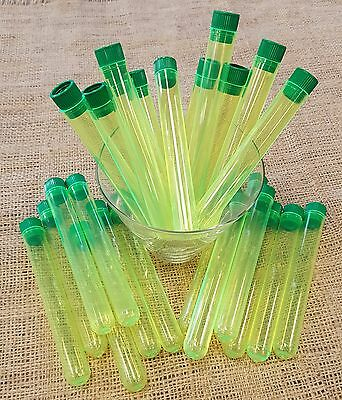 Test Tube Shots, PACK of 25, YELLOW 5