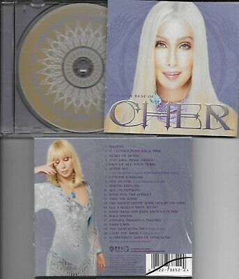 Cher NM PROMOTIONAL CD W/SLIPCASE THE VERY BEST OF CHER/A GREAT