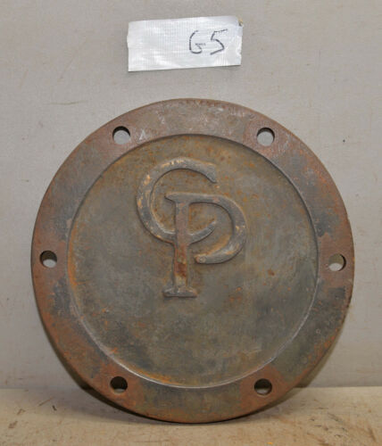 CP Central Pneumatic machine cover plate cast iron industrial steampunk G5