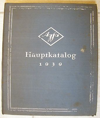 BERLIN, Katalog 1939, IG Farbenindustrie AG Agfa Anilin-Fabrikation Fotografie