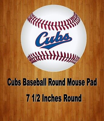 Mlb Mouse Pads (Chicago Cubs MLB  Baseball Team Mouse Pad Home Or)