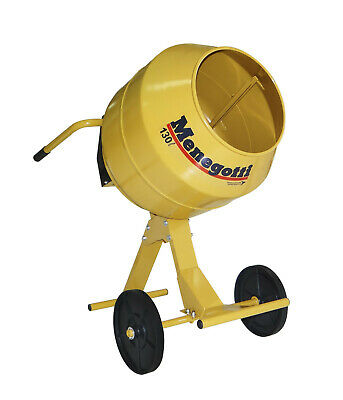 Concrete And Mortar Mixer Electric Motor. Heavy Duty 4.5 Cubic Feet.