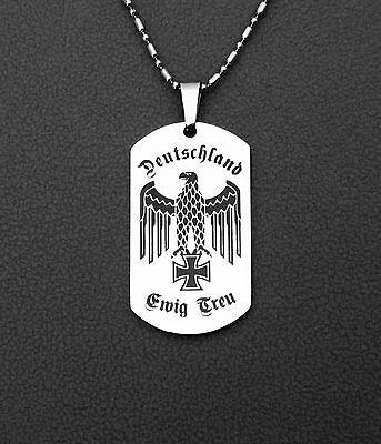 Edelstahl,Reichsadler,Eisernes Kreuz,Ewig Treu,Wehrmacht,Vaterland,WK2,silber