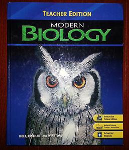 Modern biology homework help