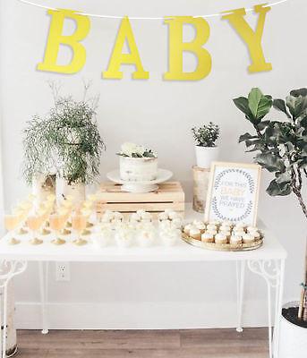 Baby Shower Bunting Mum Mummy to Be Girl Boy Gift Game Idea Decoration Cute Fun