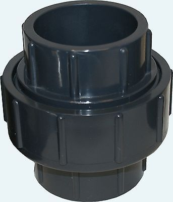 New Sch 80 Pvc 1 Inch Union Socket Connect New Sch 80 Pvc