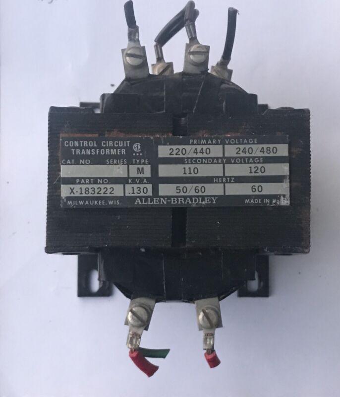 Allen Bradley X-183222 Transformer 🔥🔥