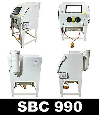 Sandstrahlkabine SBC 990 Sandstrahlgerät  Sandstrahlanlage mit Absaugung 990L