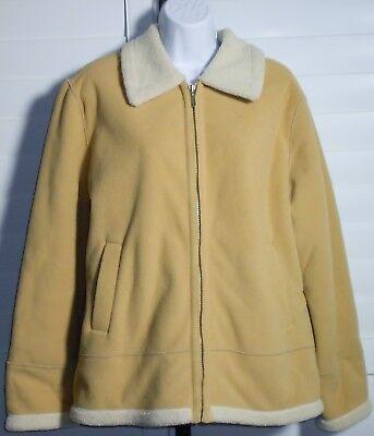 Braetan  Women's Tan Soft Shell Jacket Coat Size L