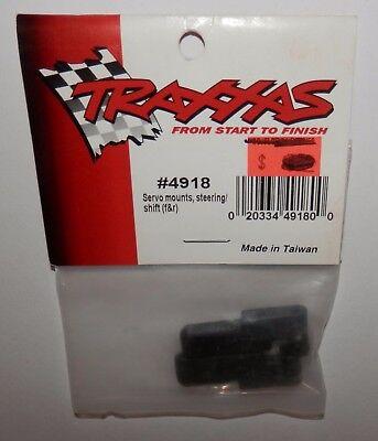 Traxxas Servo Mounts, Steering/Shift Front & Rear #4918 NIP