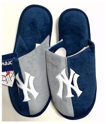 New York Yankees MLB Baseball Dual Colour Slippers : Medium