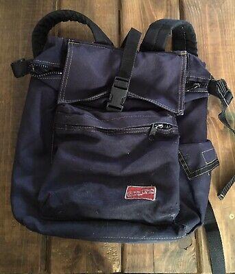 Shortys Skateboard Backpack Bag Adjustable Strap Black