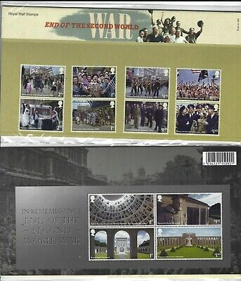 GREAT BRITAIN 2020 END OF THE SECOND WORLD WAR PRESENTATION PACK