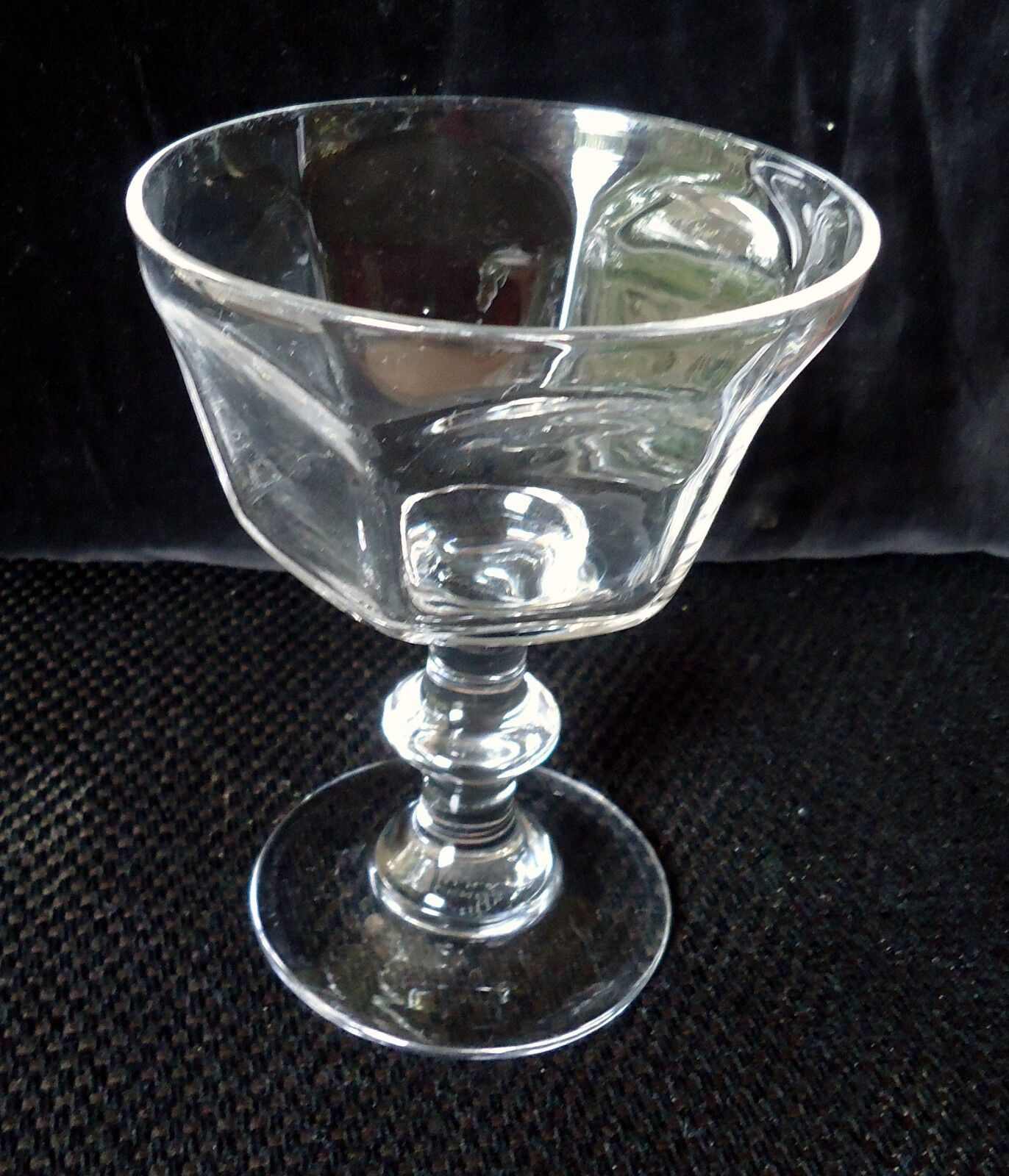 Lenox Crystal Champagne/Tall Sherbet Antique Clear Pattern Set Of 6 - $50.00