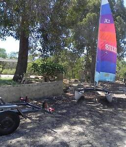 Hobie 16 Cat Dawesville Mandurah Area Preview
