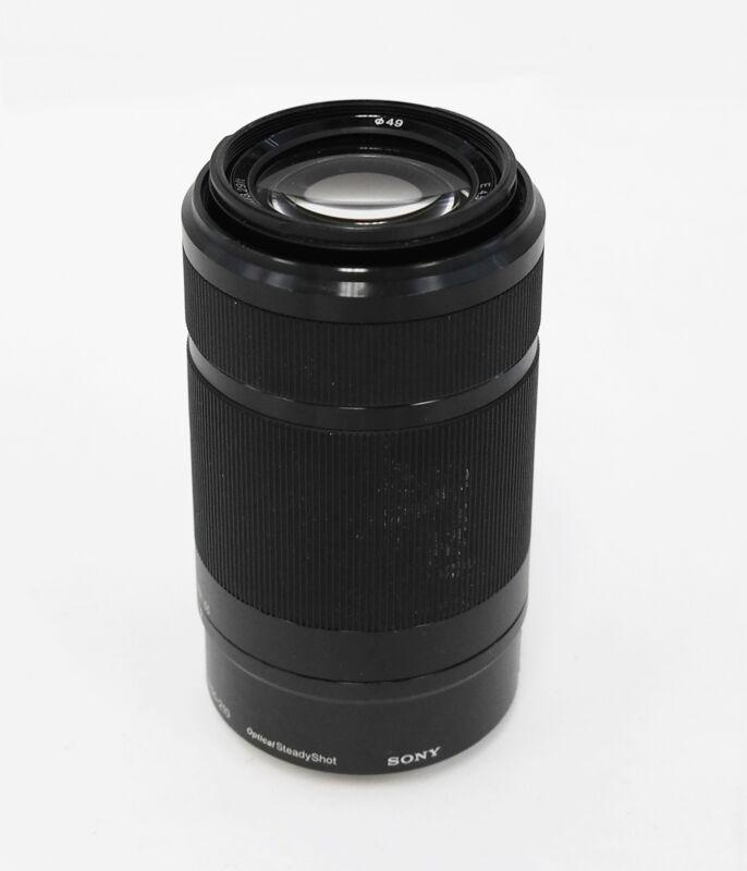 Sony Alpha SEL55210 E-mount 55-210mm F4.5-6.3 OSS Lens (Black)