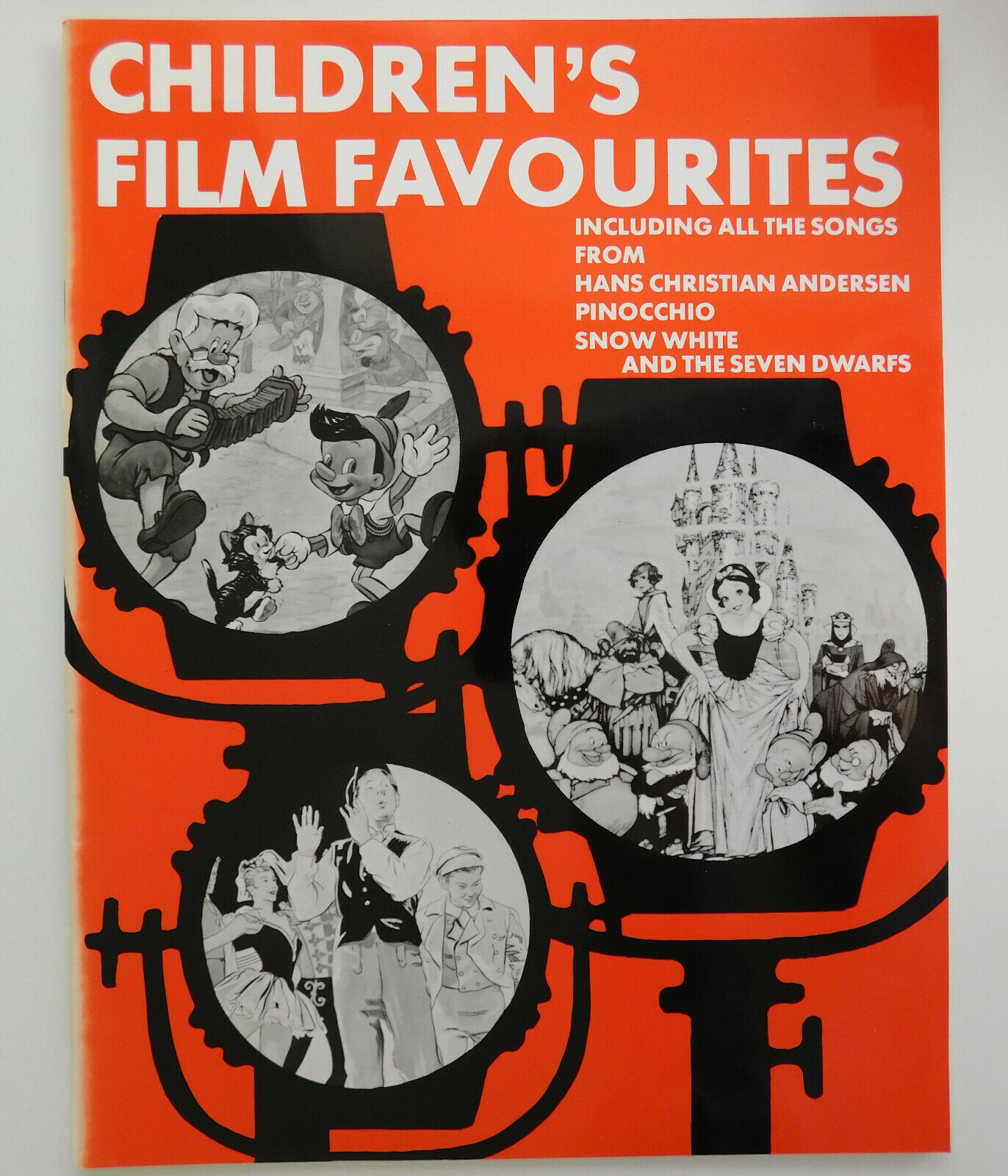 Song Music Book Children's Film Favourites Pinocchio Snow White Andersen movies