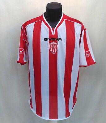 Rare 2012/2013 Nea Salamis Famagusta FC Givova Football Jersey Red Shirt Size XL image