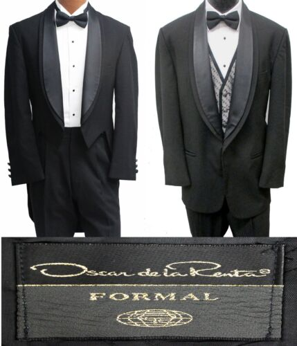 Tuxedo Tailcoat & 1 Button Jacket Package 2 Coats, Pants, Shirt, Bow Tie & More!