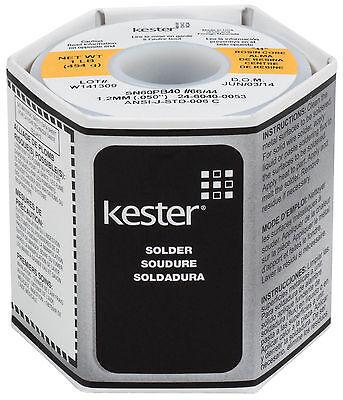 Kester 44 Rosin Core Solder 6040 .050 1 Lb. Spool
