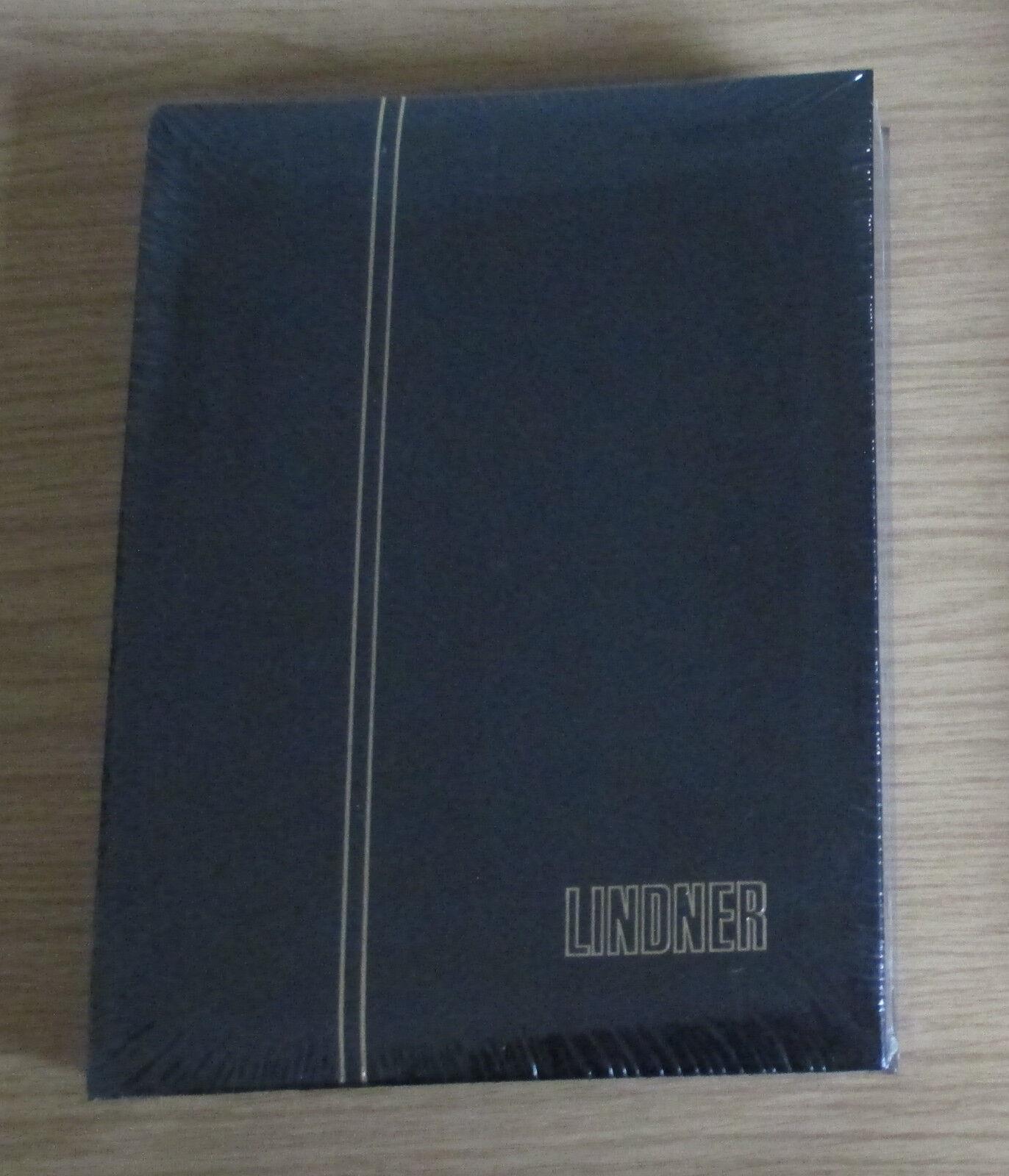 Lindner 1169S Einsteckbuch7Einsteckalbum mit 60 schwarze Seiten in schwarz