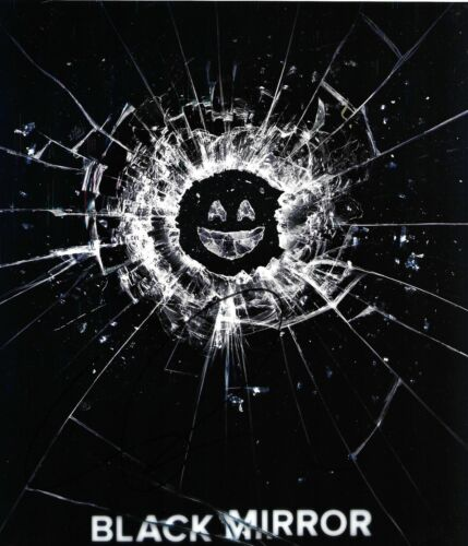 Charlie Brooker Signed Black Mirror 10x8 Photo AFTAL