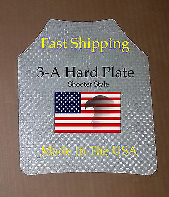 "III-A 10""x12"" Bullet proof Vest or Backpack plate Tactical Body Armor"