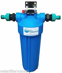 Koi pond dechlorinator water filter for fish pond up to for Inline pond filter