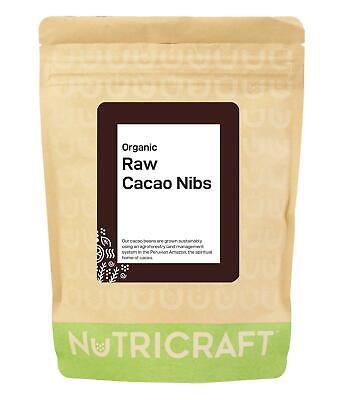 500g CACAO / COCOA NIBS (organic) - Peruvian variety - crunchy!