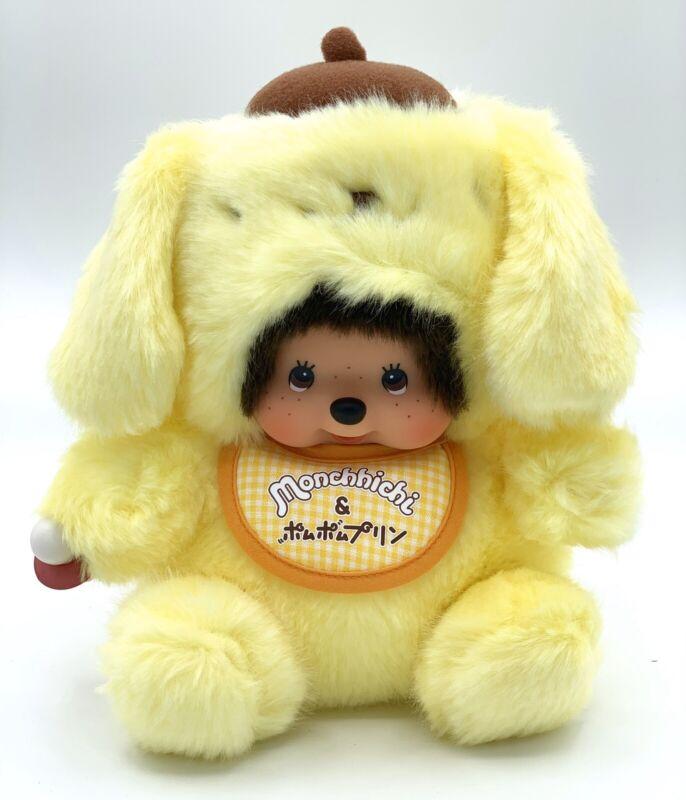 Monchichi X Pompompurin Plush Doll