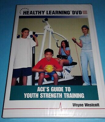 ACE's Guide to Youth Strength Training (New Sealed DVD) Healthy Learning Free SH
